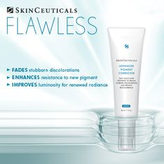 #SkinCeuticals Advanced Pigment Corrector. Great for those who have mild to moderate brown spots or other pigmentation problems and for those who can't or don't want to use hydroquinones.