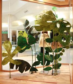 anthropologie tropical display - Google Search