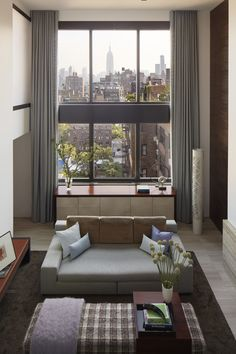 Fifth Avenue Duplex Penthouse | SPG Architects | love the view