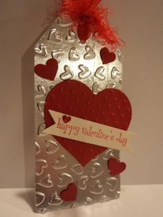 Valentine Tag by candee porter - Cards and Paper Crafts at Splitcoaststampers