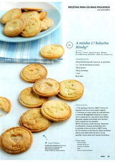 Revista Bimby Setembro 2015 Baby Food Recipes, Cookie Recipes, Confort Food, Kitchen Reviews, Kitchen Time, Tasty, Yummy Food, Portuguese Recipes, Happy Foods