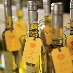 Azeite de oliva como lembrancinha de casamento | Blog da Sofia