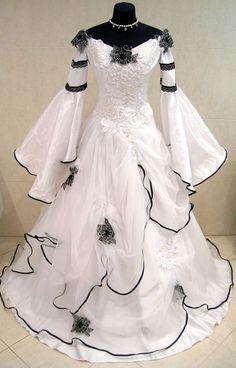 MEDIEVAL WEDDING DRESS GOTH RENAISSANCE S-M 6-8-10 LARP PIRATE COSTUME HALLOWEEN | Clothes, Shoes & Accessories, Fancy Dress & Period Costume, Fancy Dress | eBay!