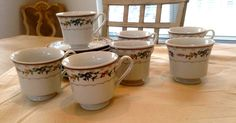 VINTAGE BELLEGARDEN Porcelain China By by LalasCollections on Etsy