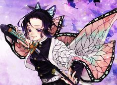 """たか🐓ぼちぼち on Twitter: """"蟲柱 胡蝶しのぶ… """" Anime Angel, Demon Slayer, Slayer Anime, All Anime, Anime Art, Manga, Blood Art, Best Waifu, Marvel"""