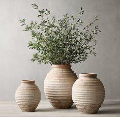 Olive Branch Arrangement & C. Home Decor Accessories, Decorative Accessories, Olive Jar, Design Vase, Diy Home Decor, Room Decor, Tadelakt, Branch Decor, Deco Floral