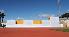 Multifunctional Building and Sports Facility,Courtesy of GANA Arquitectura