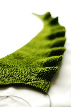 Lintilla by Martina Behm. Pure glory in my favorite green.