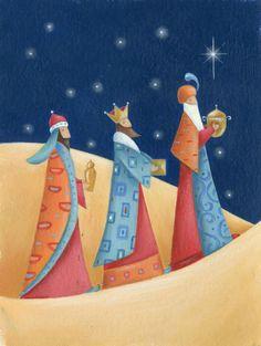 Alex Burnett - A; Modern Christmas Cards, Christmas Card Images, Christmas Settings, Christmas Nativity, Christmas Art, Vintage Christmas, Catholic Art, Religious Art, Silent Night Holy Night