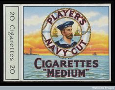 """Dawlish Chronicles : HMS Hero – the Player's """"Navy Cut"""" battleship Vintage Cigarette Ads, Cigarette Brands, Cigarette Case, Vintage Advertisements, Vintage Ads, Poster Vintage, Pin Up, Up In Smoke, Antique Photos"""