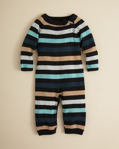 Striped Coverall