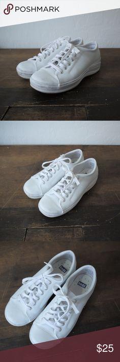 cheap for discount bcfb3 44472 vintage 90s Nike like leather Keds keds brand like new 90s style ready to  wear like