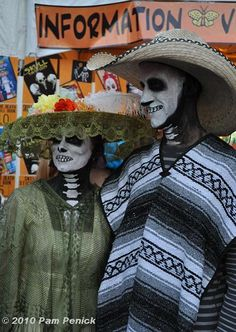 Skeletons on parade: Day of the Dead 2010 | Digging