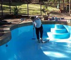 Zinsser  Gal Blue Flat Oil Based Swimming Pool Paint
