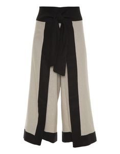 Split high waisted laced cropped wide leg pants: must have top trend for 2018