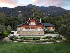 Montecito Farmhouse, Montecito CA Single Family Home - Santa Barbara Real Estate