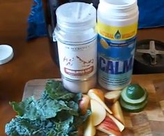 Kale & Apple Mineral Tonic Recipe  The Kale, Natural Calm, Himalayan Salt and Iodine all add a strong boost of trace minerals to the mix, allowing me to stay sharp, focused and stress-free at work.