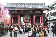 Sensoji - Asakusa Kannon Temple in Tokyo - for Setsubun!!!