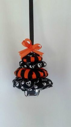 Halloween for Christmas Tree Ornament by ThisandThatCrafter