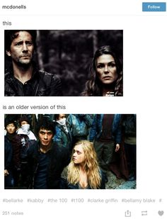 Kabby and Bellarke The 100 #The100
