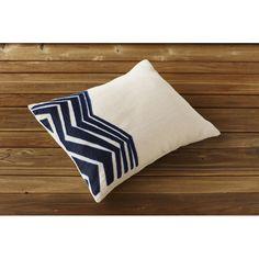Coyuchi Blue Light Pillow