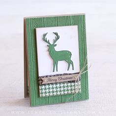 By Teneale Williams | Stampin' Up! Merry Patterns Stamp Set | Christmas Card 2017