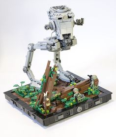 AT-ST Endor's battle!