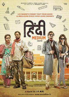 Hindi Medium is rock steady at the box office. - Hindi Medium box office collection day Irrfan Khan's film is unshakeable, earns Rs crore Hindi Movies Online Free, Movies To Watch Online, Movies Free, Watch Movies, Films Hd, Imdb Movies, Christopher Plummer, Hindi Medium Full Movie, Disney Pixar