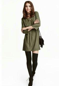 Casual dress - H&M    19.99€   http://m2.hm.com/m/en_eur/productpage.0406419007.html