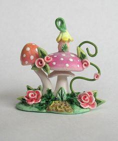 Miniature+Toadstool+Mushroom+Whimsy+House+OOAK+by+ArtisticSpirit