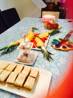 Easter dessert table Cro style