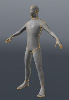 Character UV mapping tips by Henning Sanden