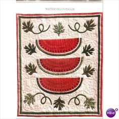 Quilts with watermelon  | Watermelon Quilts / .
