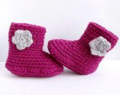Zapatos para niña Zapatitos para bebéBotas de por Amaiahandmade