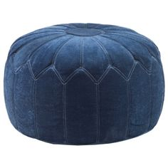 Madison Park 'Kelsey' Round Pouff Ottoman - Overstock™ Shopping - Great Deals on Madison Park Ottomans