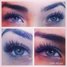Eyelashes extensions [ HairUpsurge.com ] #beauty