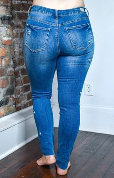 Superenge Jeans, Future Wife, Distressed Skinny Jeans, Hemline, Thighs, Curvy, Spandex, Model, Weird