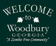 Something is rotten in the state of Woodbury . . .
