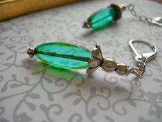 Love these earrings...made by my friend, Kris Early!