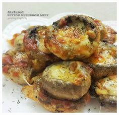 ♥♥♥ YukieCody ♥♥♥: Air-fried Button Mushroom Melt