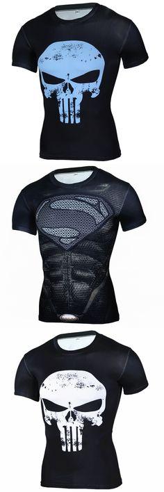 Compression Shirt Superman 3D T Shirt Mens Shirt Bodybuilding Casual Tights Short Sleeve Fitness Crossfit Shirt Brand Clothing