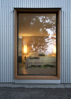 Image 4 of 13 from gallery of Accord, NY Passive House / North River Architecture & Planning. Photograph by Deborah DeGraffenreid Red Oak Tree, Passive House Design, Stone Ridge, Fish Creek, Metal Siding, Energy Efficient Homes, Solar House, Construction Process, Design Strategy