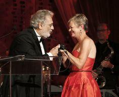 LA Opera 2012 Season Opening Night with Placido Domingo & the Gala Chair Jill Baldauf
