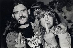 """""""Everybody underestimated him. He was very well-read, very clever guy. I miss him all the time."""", Ozzy Osbourne said about Lemmy Kilmister after his death. Lemmy even wrote the lyrics for some of Ozzy's songs. Music Pics, Music Love, Music Is Life, 70s Music, Music Stuff, Heavy Rock, Heavy Metal, Ozzy Osbourne Young, Ozzy Osbourne 80s"""