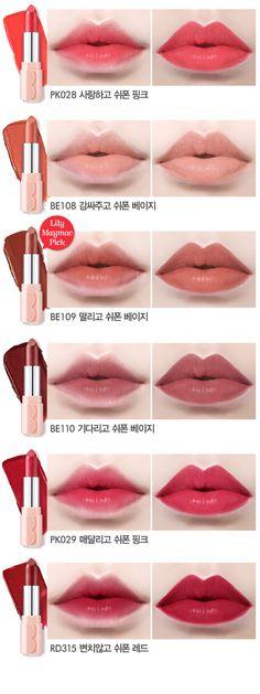 Etude House Dear My Blooming Lips Chiffon lipstick