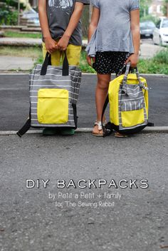 DIY Mini Backpack – with Backpack Sewing Video by @Celina Bailey