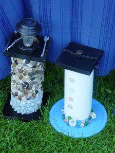 Pvc bird feeders with lights
