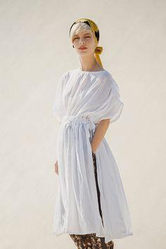 NEW Silk Cotton chifon dress tunic with waist tying by jenfashion, $145.00