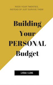 Building your personal budget! Free workbook! // Lydia Lois
