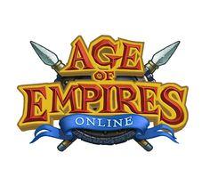 Age of Empires online Logo Logos, Typography Logo, Logo Branding, Up Game, Game Art, Film Movie, Logo Design Inspiration, Icon Design, Game Logo Design